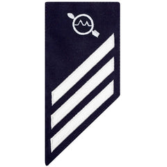 Coast Guard E3 Rating Badge: OPERATIONS SPECIALIST - BLUE