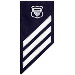 Coast Guard E3 Rating Badge: MARITIME ENFORCEMENT - BLUE