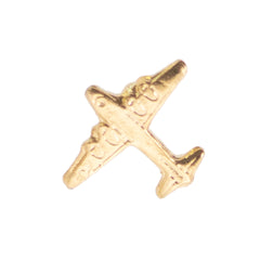Ribbon Attachments: Berlin Airlift Airplane - gold