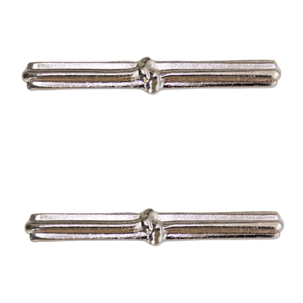 Army Ribbon Attachments: Good Conduct - 1 knot, silver