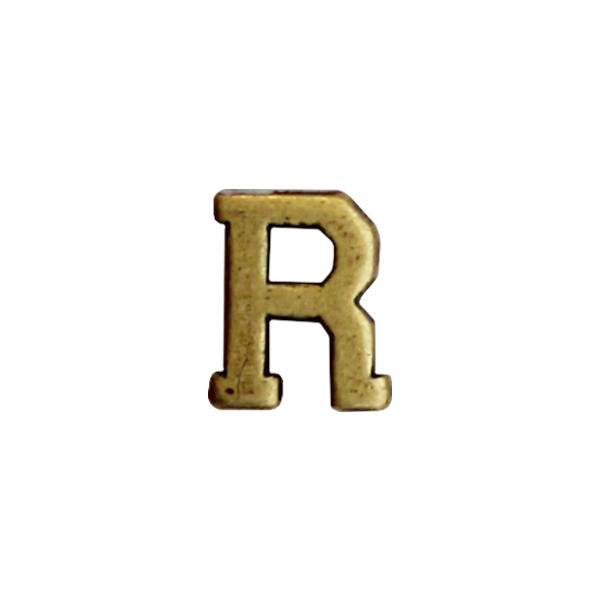 Letter R Attachment for Ribbon and Full Size Medal 1/4