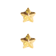 Ribbon Attachments: Star - 3/16 inch gold