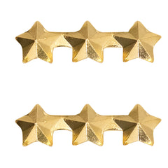 Ribbon Attachments: Three Stars Mounted on a Bar - gold