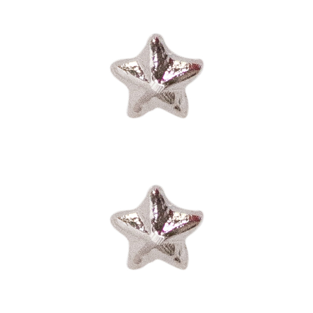 Miniature Medal Attachment: 1/8 inch Silver Star