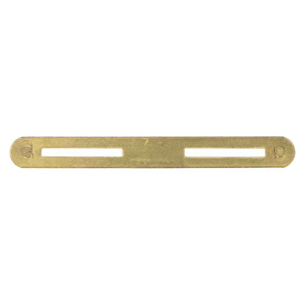 Ribbon Mounting Bar: Base Bar - brass, double clutch back