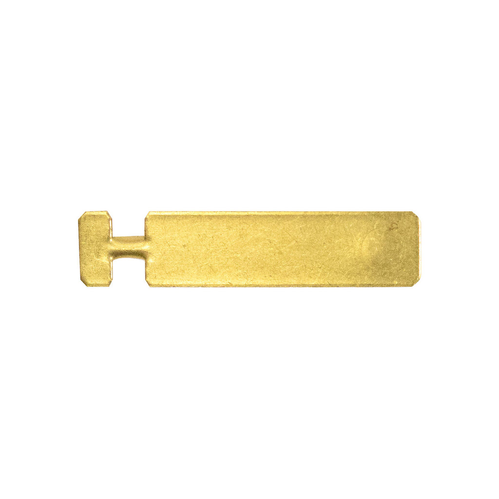 Pin Back for ribbon & full size medal - brass base