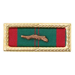 Ribbon Unit: Vietnam Civil Action First Class with palm and large frame. Palm attachment included but not mounted.