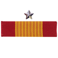 Ribbon Unit: Vietnam Armed Forces Gallantry Cross with silver star