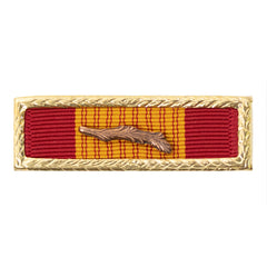 Citation: Vietnam Gallantry Cross with small frame.  Palm attachment included but not mounted.