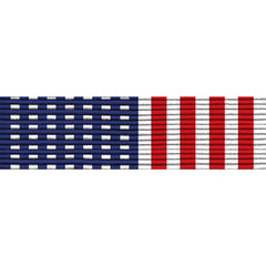 Lapel Pin 2900: Stars and Stripes Ribbon mounted