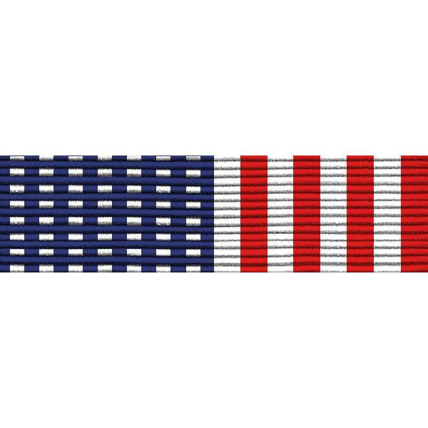 Ribbon Unit #2900: Stars and Stripes ribbon unmounted.
