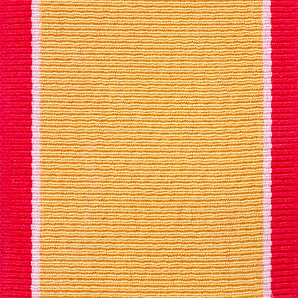 Gold Lifesaving Ribbon Yardage