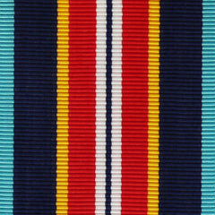 Coast Guard Oversease Service Ribbon Yardage