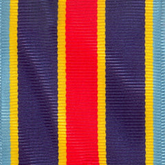 Full Size Ribbon Yardage: USN and USMC Overseas Service