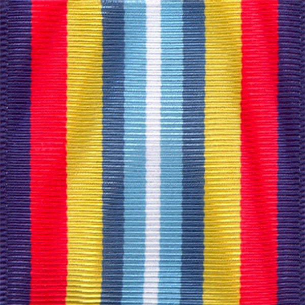 Coast Guard Sea Service Deployment Ribbon Yardage