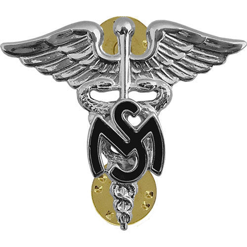 Army Officer Collar Device: Medical Service