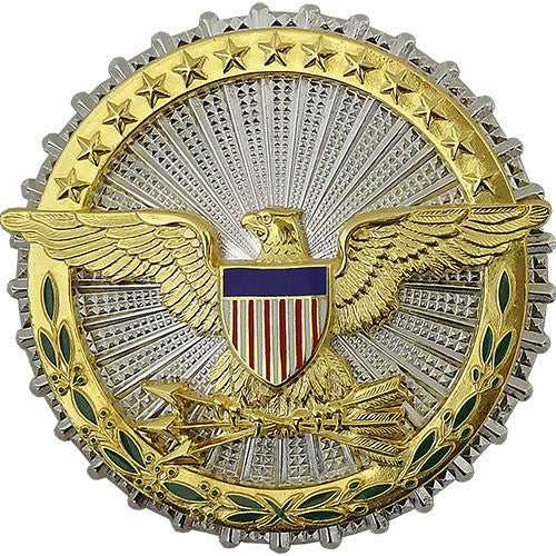 Army Identification Dress Badge: Secretary of Defense - mirror finish