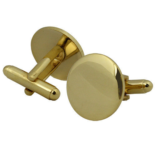Cuff Links - gold