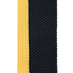 Army Cap Braid: Enlisted - black with gold trim