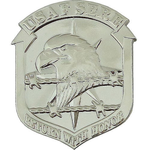 Air Force Beret Badge: Survival Evasion Resistance Escape: SERE