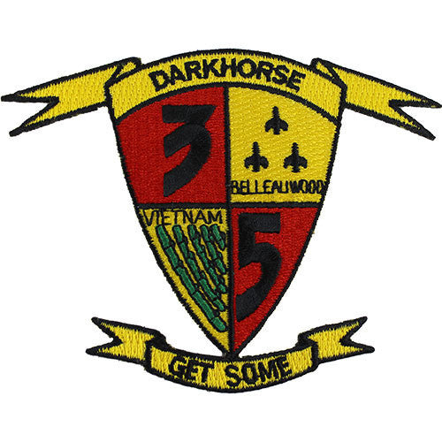 Marine Corps Shoulder Patch: Darkhorse Get Some
