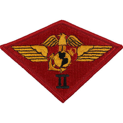 Marine Corps Shoulder Patch: Second Air Wing - color