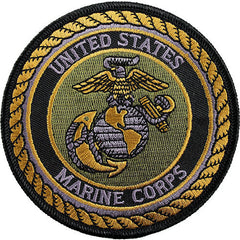 Vanguard MARINE CORPS SHOULDER PATCH FOURTH DIVISION SUBDUED NON-RETURNABLE