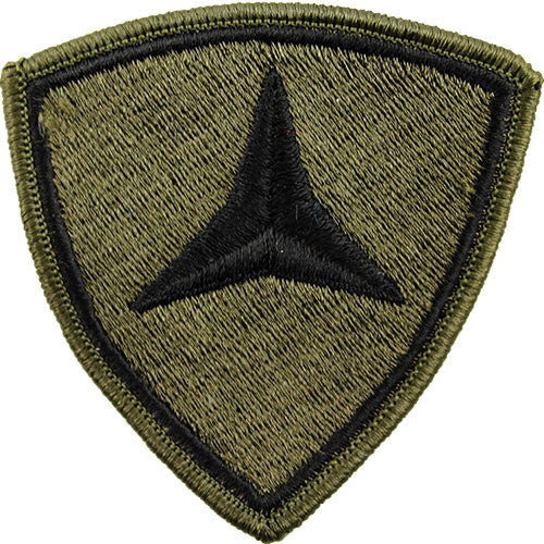 Marine Corps Shoulder Patch: Third Division - subdued (NON-RETURNABLE)