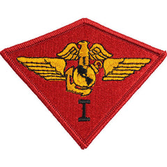 Marine Corps Shoulder Patch: First Air Wing - color