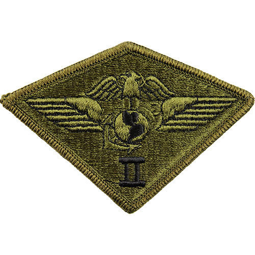 Marine Corps Patch: Second Air Wing - subdued (NON-RETURNABLE)