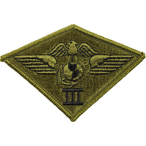 Marine Corps Patch: Third Air Wing - subdued (NON-RETURNABLE)