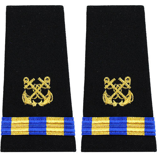 Navy Soft Shoulder Mark: Warrant Officer 2 Boatswain