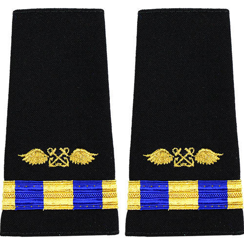 Navy Soft Shoulder Mark: Warrant Officer 3 Aviation Boatswain