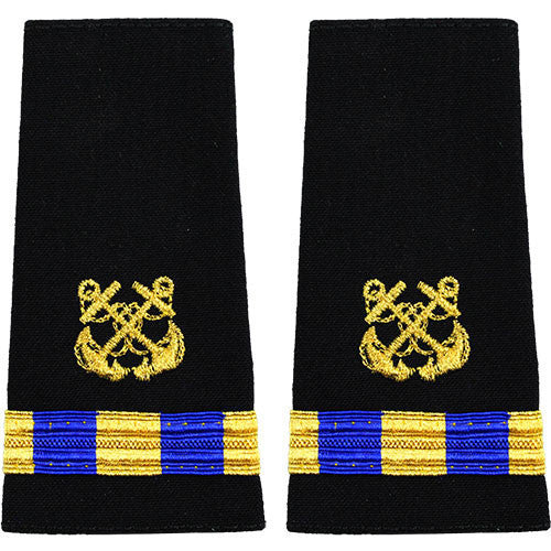 Navy Soft Shoulder Mark: Warrant Officer 3 Boatswain