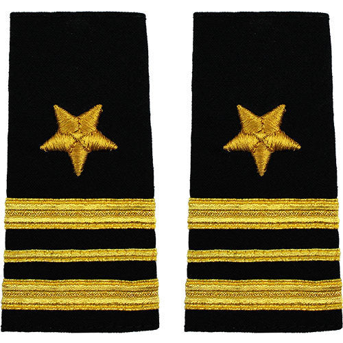 Navy Soft Shoulder Mark: Line Lieutenant Commander