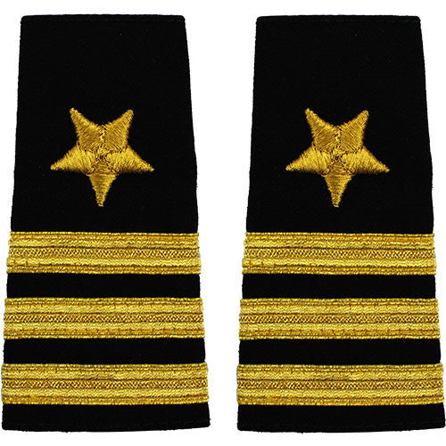 Navy Soft Shoulder Mark: Line Commander