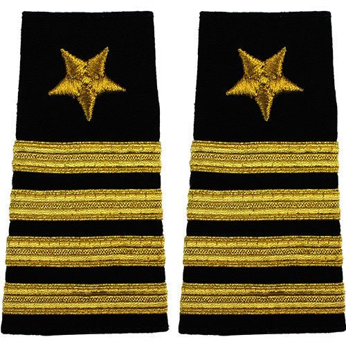 Navy Soft Shoulder Mark: Line Captain