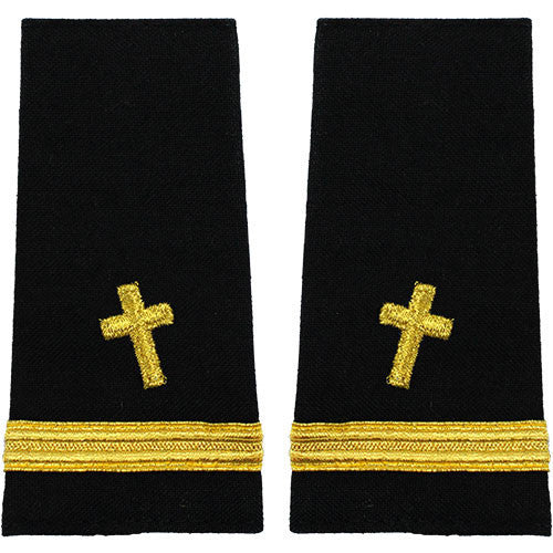 Navy Soft Shoulder Mark: Ensign Christian Chaplain