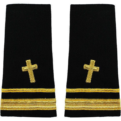 Navy Soft Shoulder Mark: Lieutenant Junior Grade Christian Chaplain