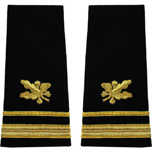 Navy Soft Shoulder Mark: Lieutenant Junior Grade Supply Corps