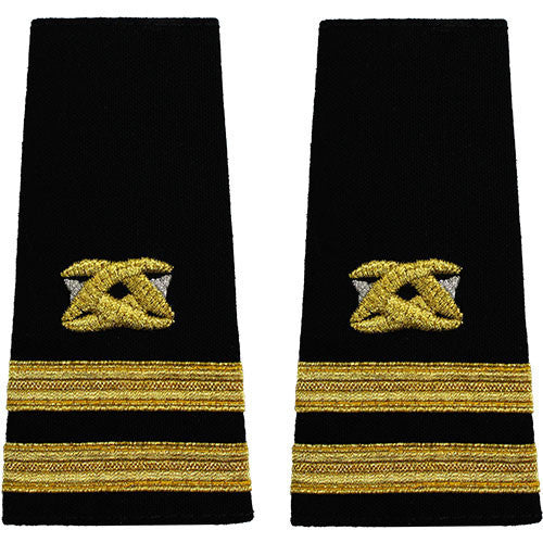 Navy Soft Shoulder Mark: Senior Lieutenant Civil Engineer