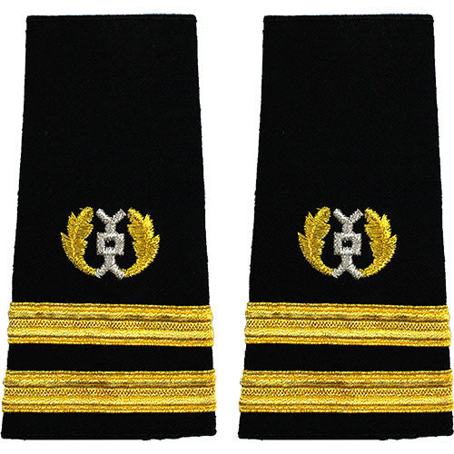 Navy Soft Shoulder Mark: Senior Lieutenant Judge Advocate