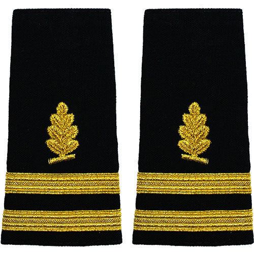 Navy Soft Shoulder Mark: Senior Lieutenant Medical Service
