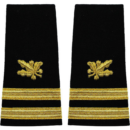 Navy Soft Shoulder Mark: Senior Lieutenant Supply Corps