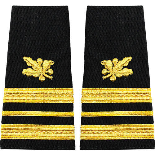 Navy Soft Shoulder Mark: Lieutenant Commander Supply Corps