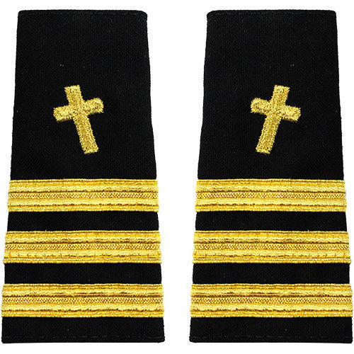 Navy Soft Shoulder Mark: Commander Christian Chaplain