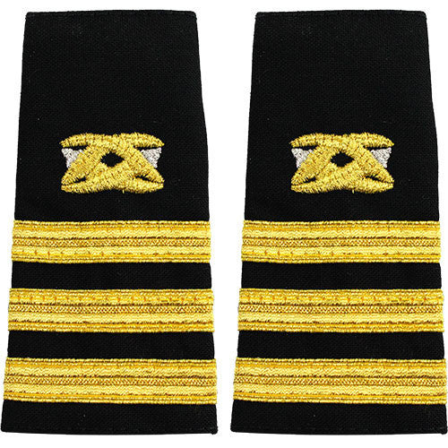 Navy Soft Shoulder Mark: Commander Civil Engineer