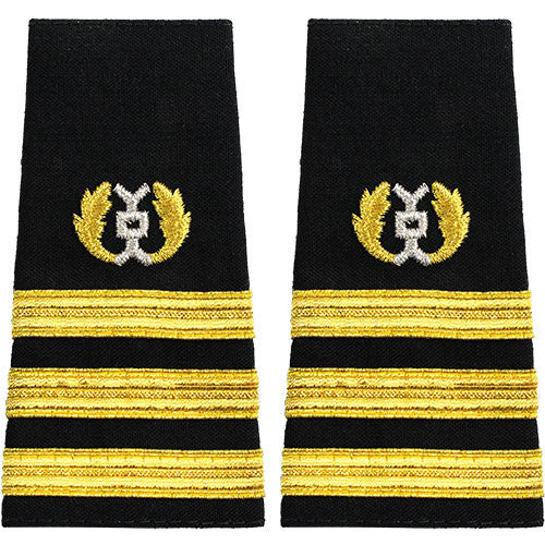 Navy Soft Shoulder Mark: Commander Judge Advocate