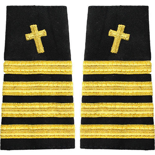 Navy Soft Shoulder Mark: Captain Christian Chaplain