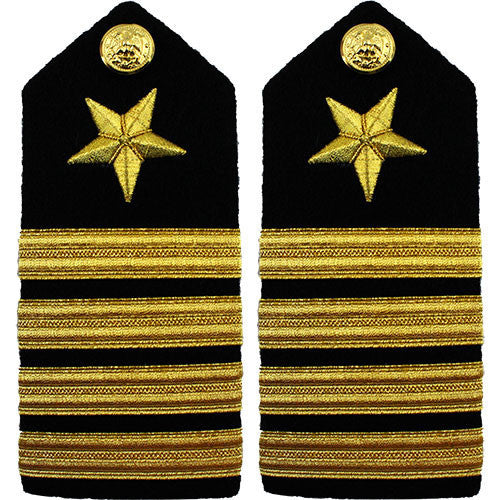 Navy Shoulder Board: Line Captain - male